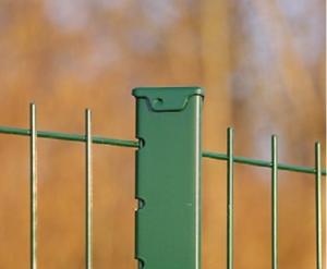 Poteau BASTIVILLE - Profil triangulaire, chapeau acier