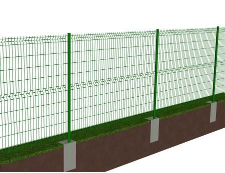 Kit de 20 ml de clôture rigide à sceller avec panneaux BASTIPLI PREMIUM